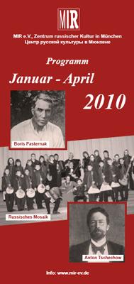 Programm Januar - April 2010