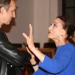 Maya Plisetskaya und Pantomime Andrey Alexander