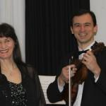 Jekaterina und Artur Medvedev
