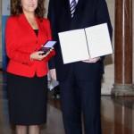 Mit dem bayerischen Ministerpräsidenten Horst Seehofer