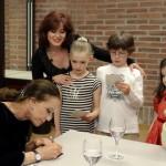 Autogramm für Ballett-Nachwuchs