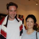 Musiker Christoph Heil und Sängerin Olga Agejewa